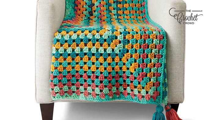 Crochet Rectangle Afghan Pattern