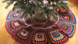 Granny Christmas Tree Skirt