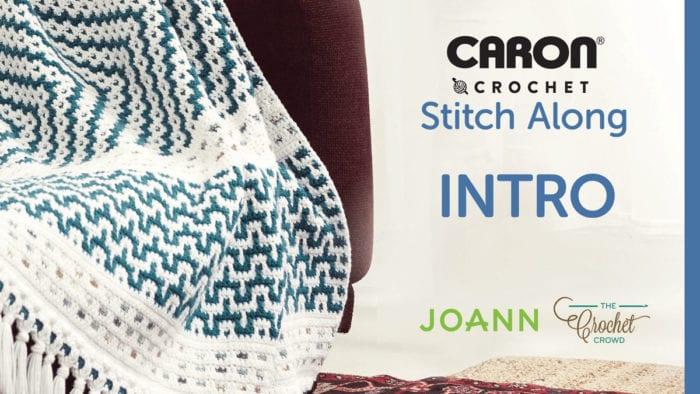 JOANN Spring Stitch Along: Woven Mosaic Blanket