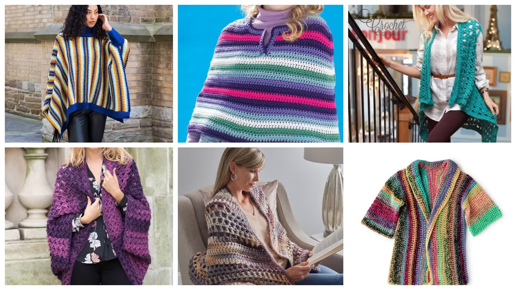 6 Crochet Something Cozy Patterns