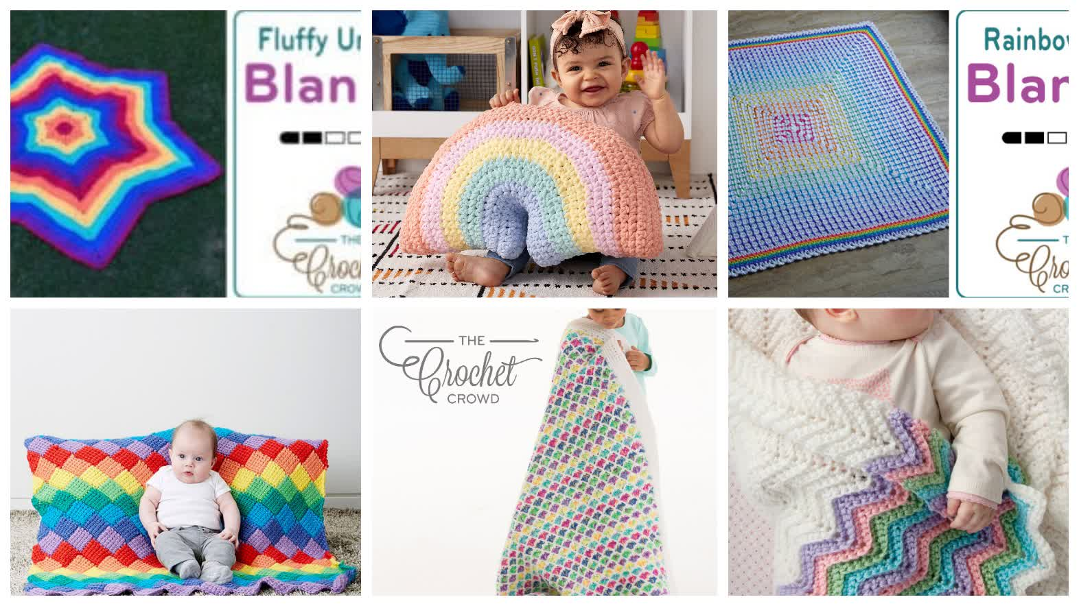 Crochet Rainbow Dreams Patterns