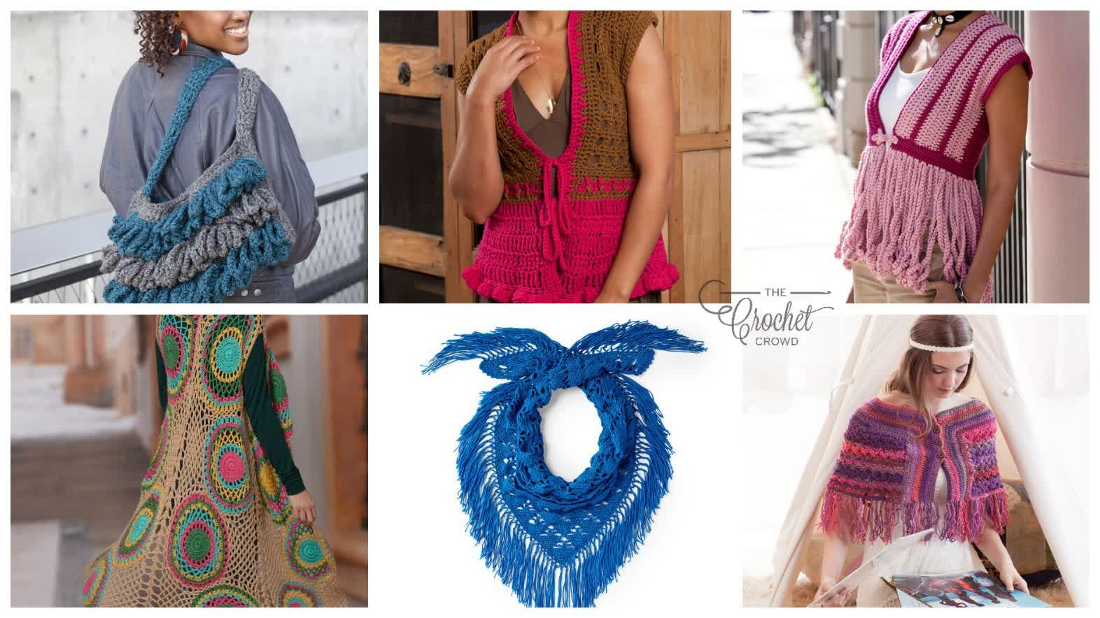 6 Boho Chic Crochet Patterns