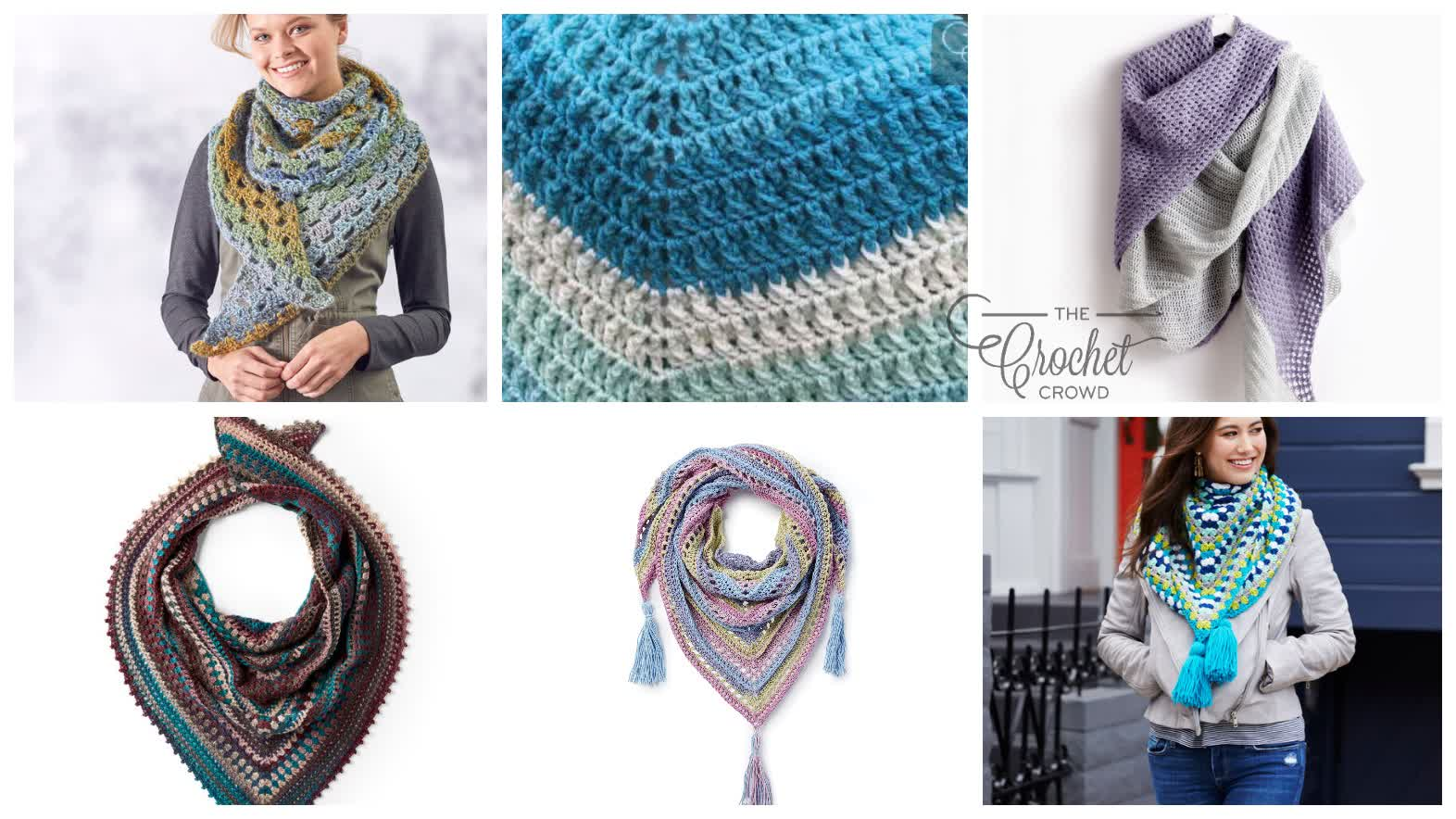 6 Crochet All Wrapped Up Patterns