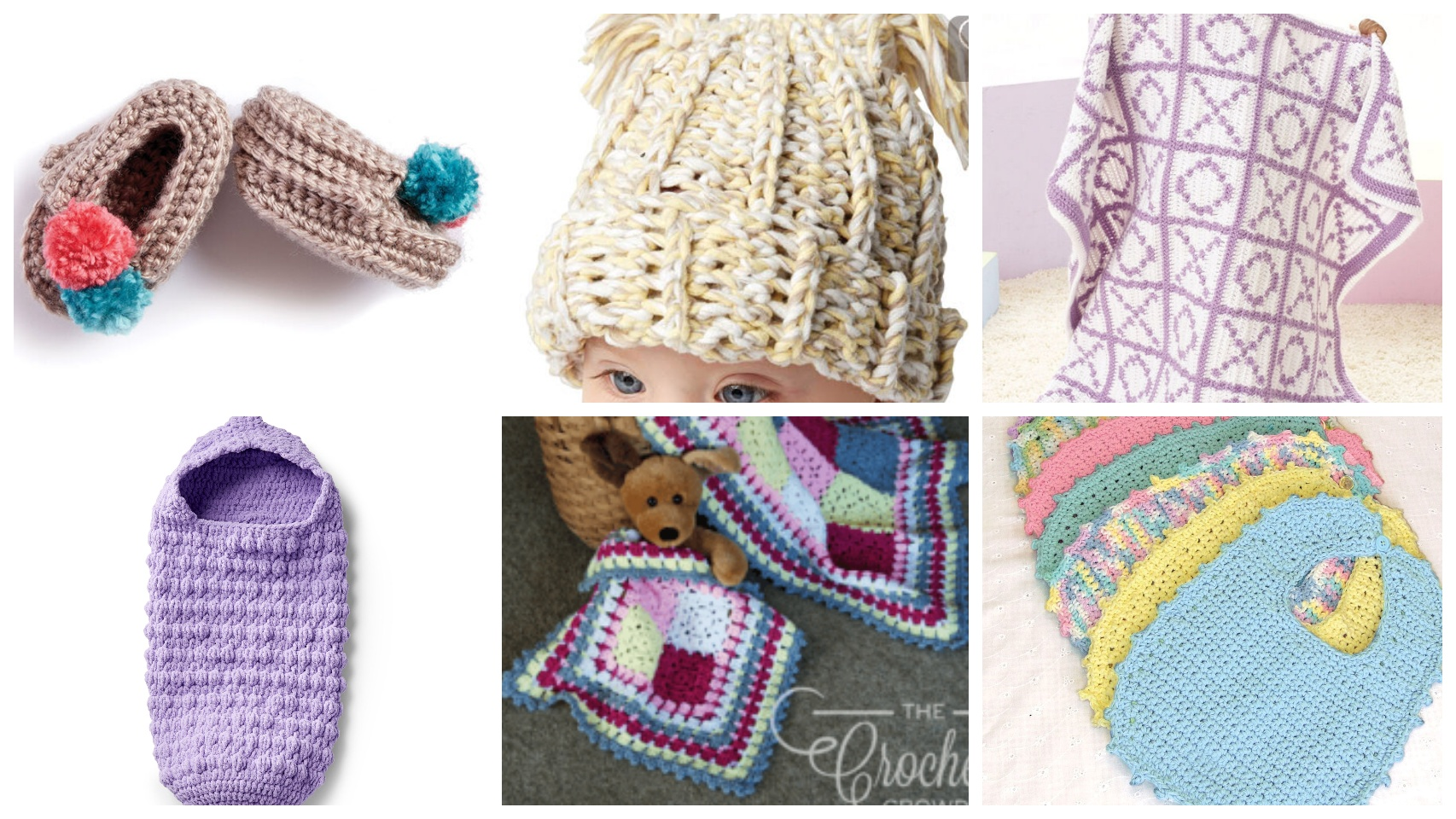 6 Crochet Bundle Of Joy Patterns