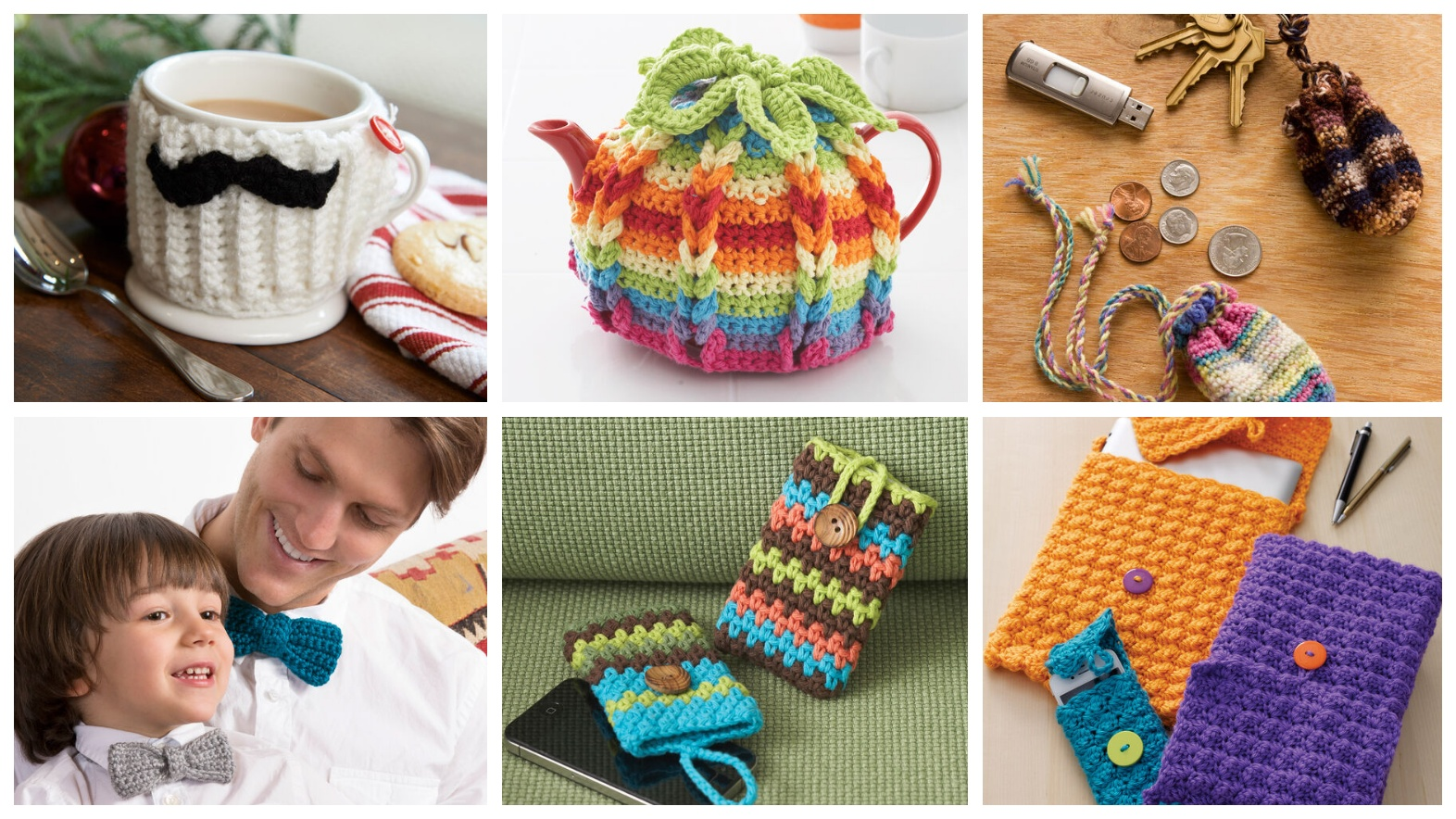 6 Crochet Quick And Easy Patterns