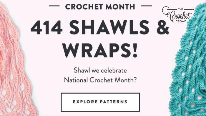 414 Crochet Shawls and Wraps