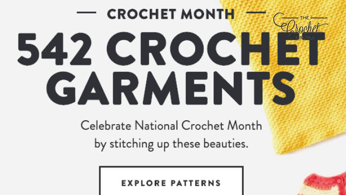542 Crochet Garment Patterns