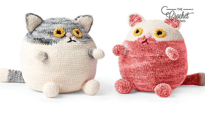 Crochet Fat Cat Stuffies Pattern
