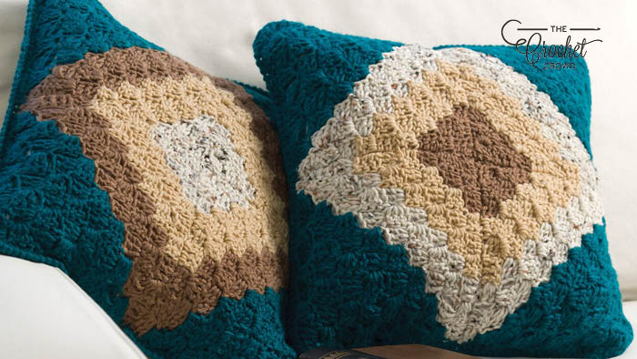 Crochet Corner to Corner Pillow Pattern