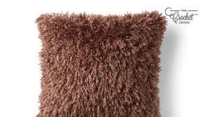 Crochet Mongolian Lamb Pillow