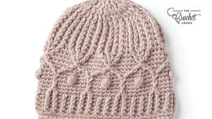 Crochet Trellis Hat