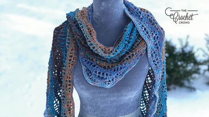 Crochet Wave Wrap