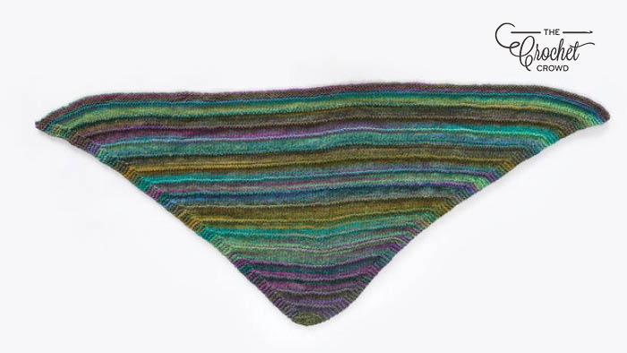 Knit Sensational Melange Shawl