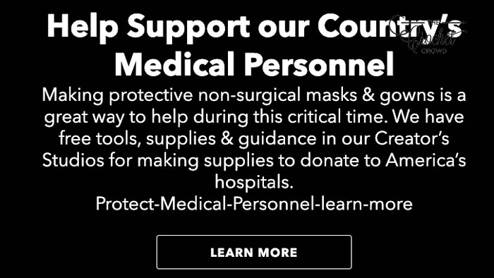 JOANN Make Protective Non-Surgical Masks and Gowns