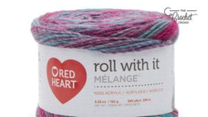 Red Heart Roll With It Melange