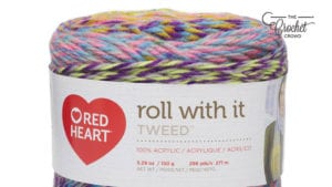 Red Heart Roll With It Tweed