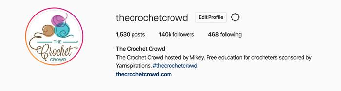 The Crochet Crowd Instagram