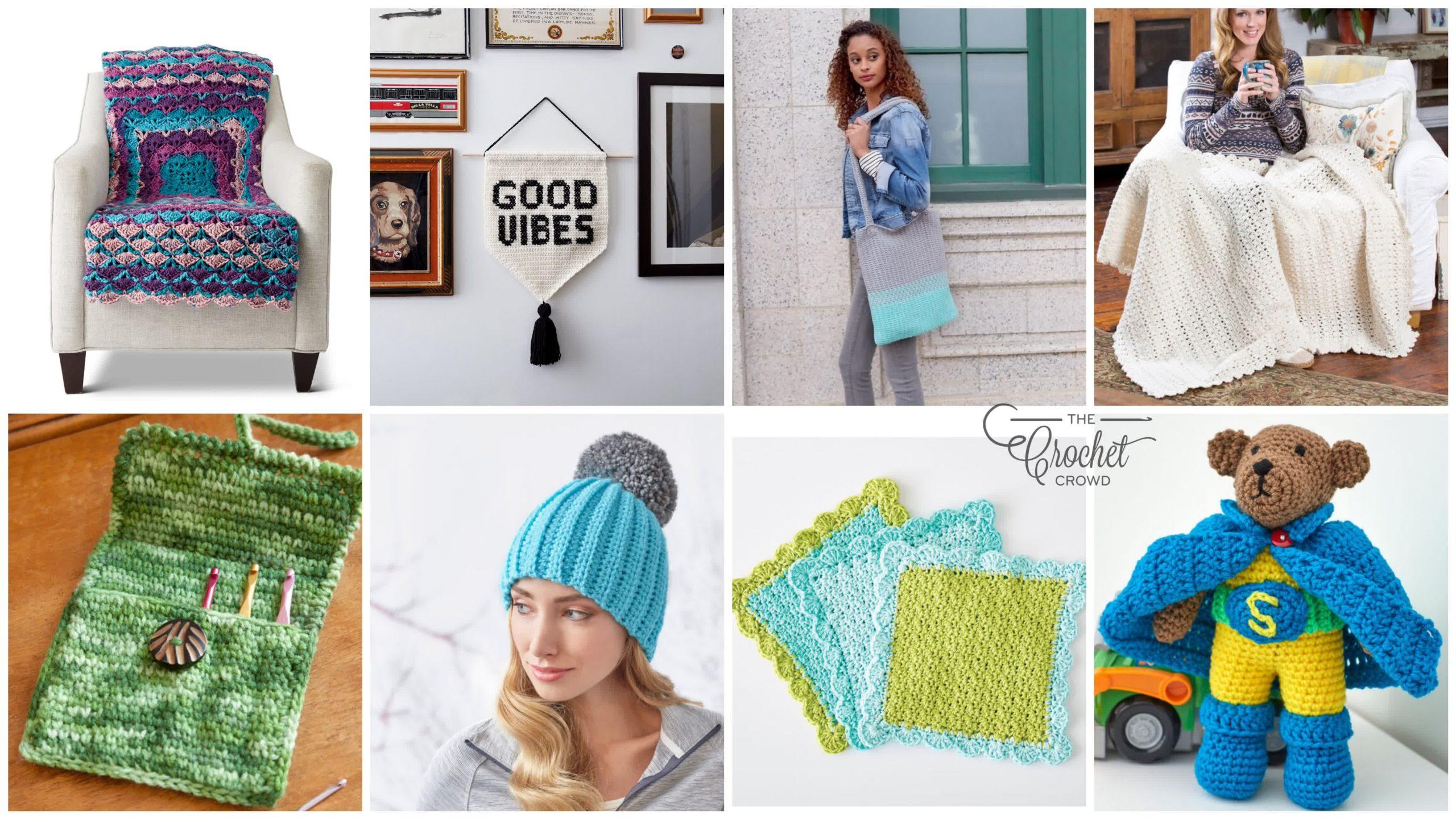 8 Easy Peasy Crochet Patterns