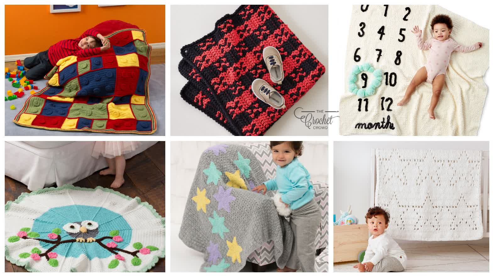 Crochet Blankets For Baby Patterns