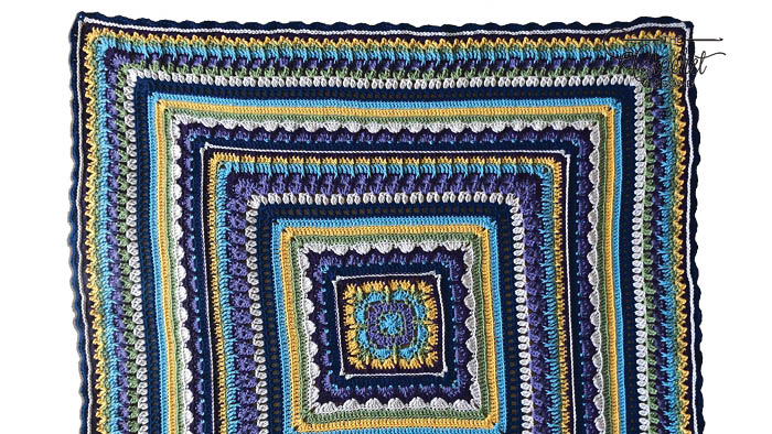 Crochet Family Blanket Pattern
