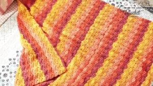 Boho Wave Afghan Crochet