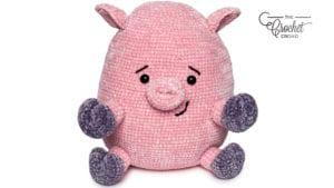 Crochet Pig Stuffie