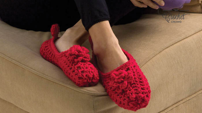 Crochet Double Sole Slippers