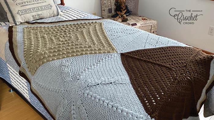 My Favorite Crochet Stitch Sampler Blanket