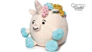 Crochet Unicorn Stuffie Pattern