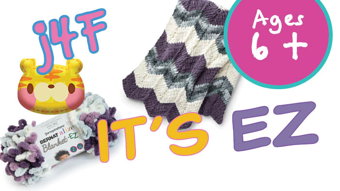 EZ Knitting Ripple Blanket Pattern