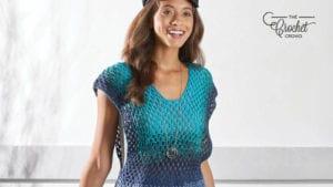 Not So Granny Crochet Tunic