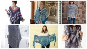 6 Crochet Fabulous Shawls