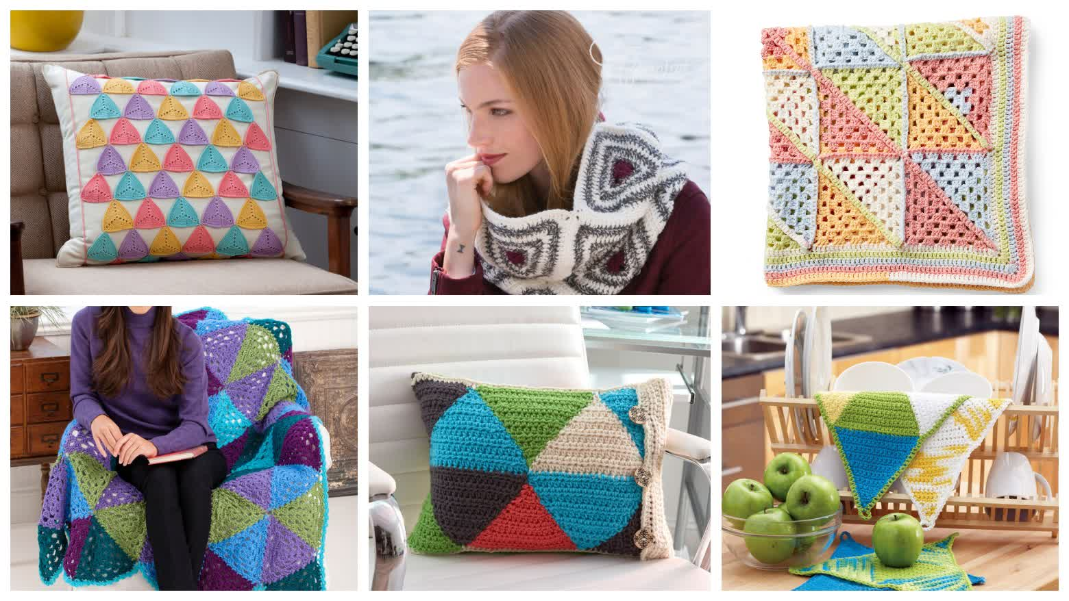 Crochet Fun With Triangle Patterns