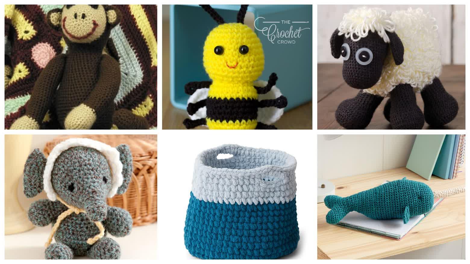 Crochet Amigurumi Toy Patterns