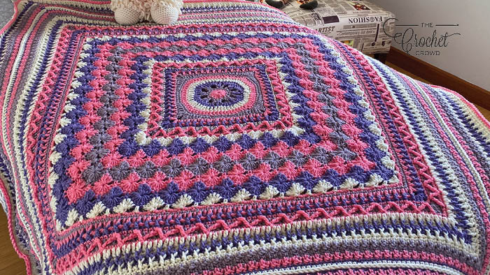 Crochet Better Together Afghan - Mikey Solo Version