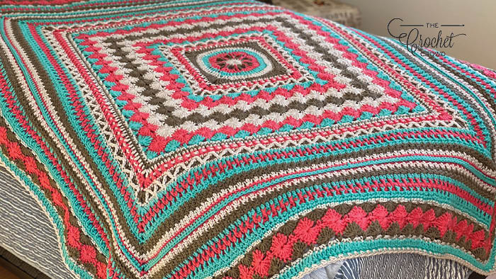Crochet Better Together Afghan - Joint Version