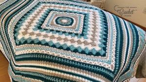 Crochet Better Together Afghan - Jeanne Solo Version