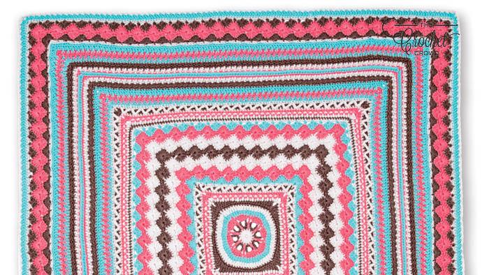 Crochet Better Together Afghan Papaya