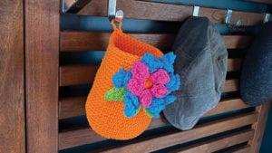 Crochet Bouquet Baskets