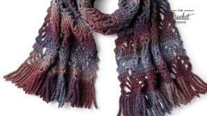 Crochet Generous Crochet Scarf