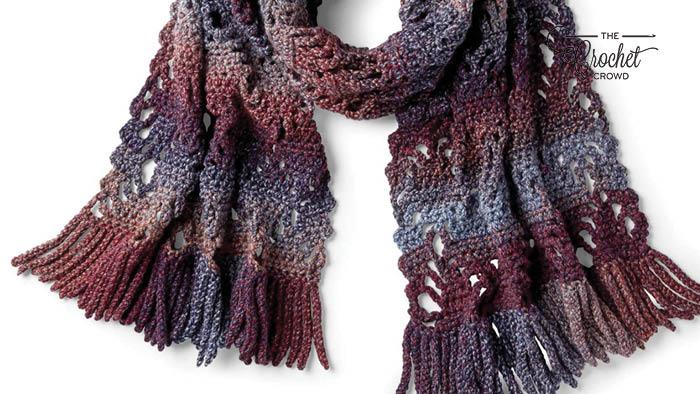 Crochet Generous Scarf Pattern