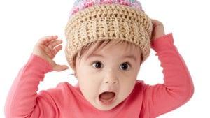 Crochet Ice Cream Swirl Hat Kids