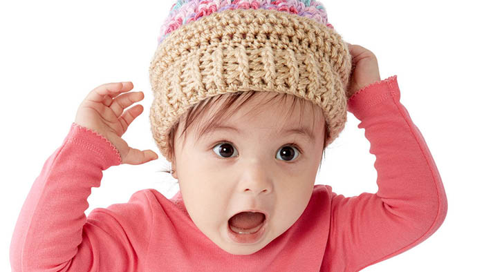 Crochet Baby Ice Cream Swirl Hat Pattern