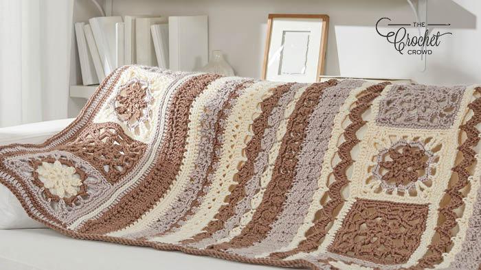 Crochet Motif Sampler Blanket Pattern
