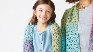 Crochet Mum and Me Bolero