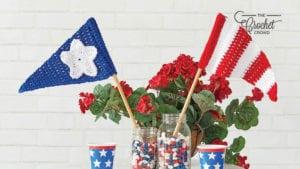 Crochet Parade Pennants