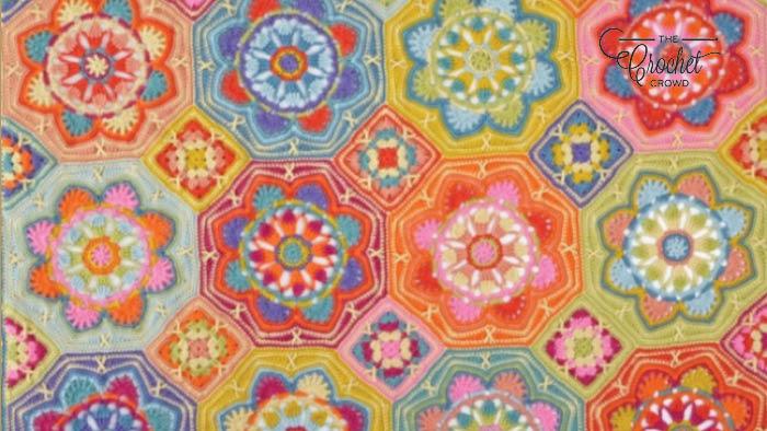 Crochet Persian Tiles Blanket