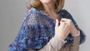 Crochet Pirouette Shawl