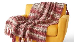 Crochet Rustic Textures Blanket