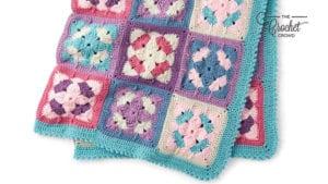 Crochet Springtime Floral Afghan